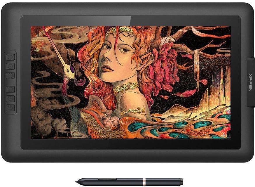 Графический планшет XP-Pen Artist 15.6 черный (ARTIST15.6) - фото 6