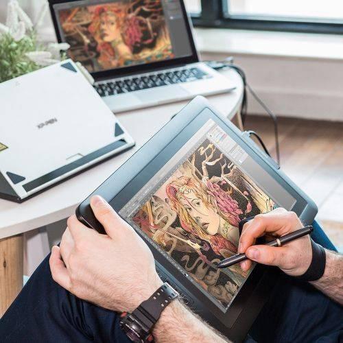 Графический планшет XP-Pen Artist 15.6 черный (ARTIST15.6) - фото 7