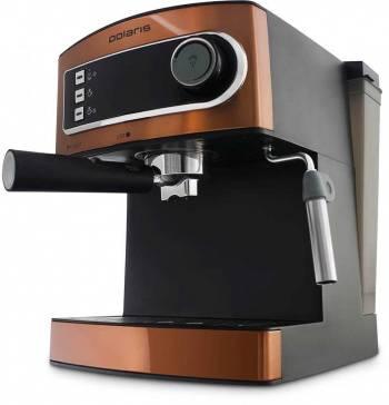 Кофеварка эспрессо Polaris PCM 1515E Adore Crema бронзовый