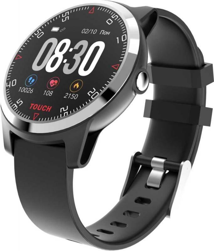 Смарт-часы KREZ Conga черный (SW21) - фото 1