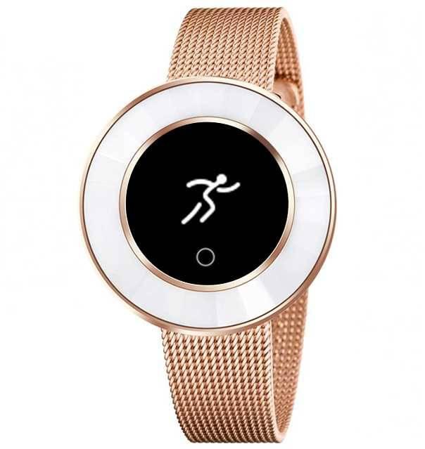 Смарт-часы KREZ Tango золотистый (SW25) - фото 1