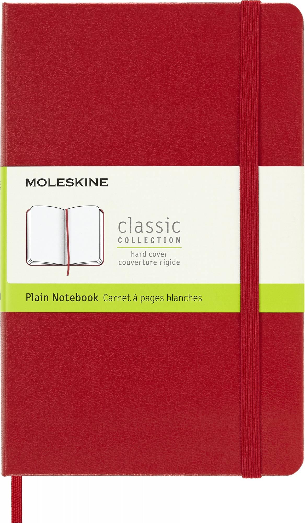 Блокнот Moleskine Classic Medium красный (QP052F2) - фото 1