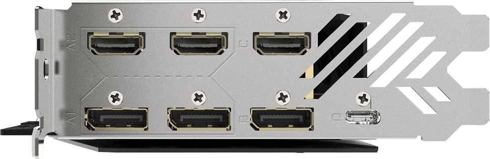 Видеокарта Gigabyte GV-N2080AORUSX W-8GC 8192 МБ - фото 9