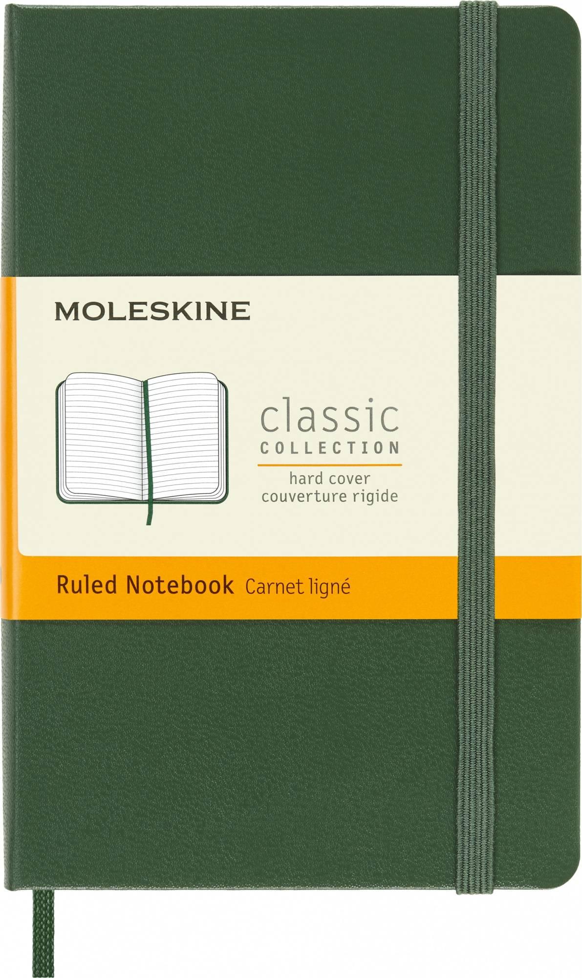 Блокнот Moleskine Classic Pocket зеленый (MM710K15) - фото 1