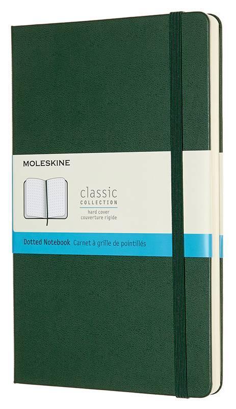 Блокнот Moleskine Classic зеленый (QP066K15) - фото 1