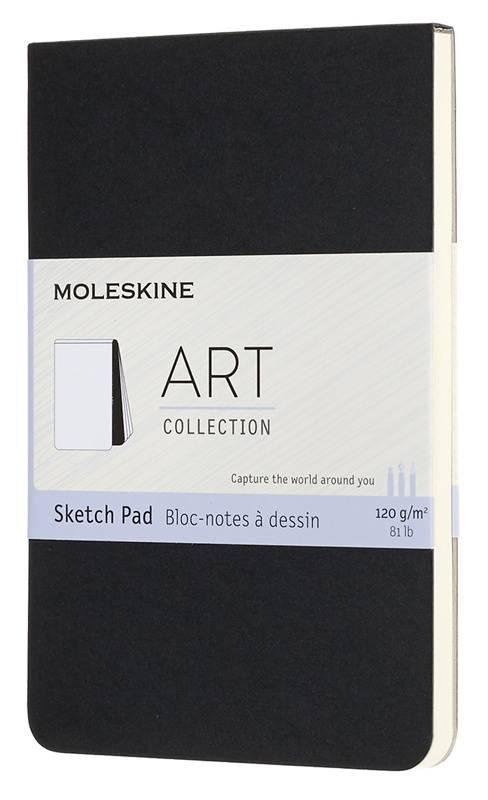 Блокнот Moleskine Art Soft Sketch Pad Pocket черный (ARTSKPAD2) - фото 1