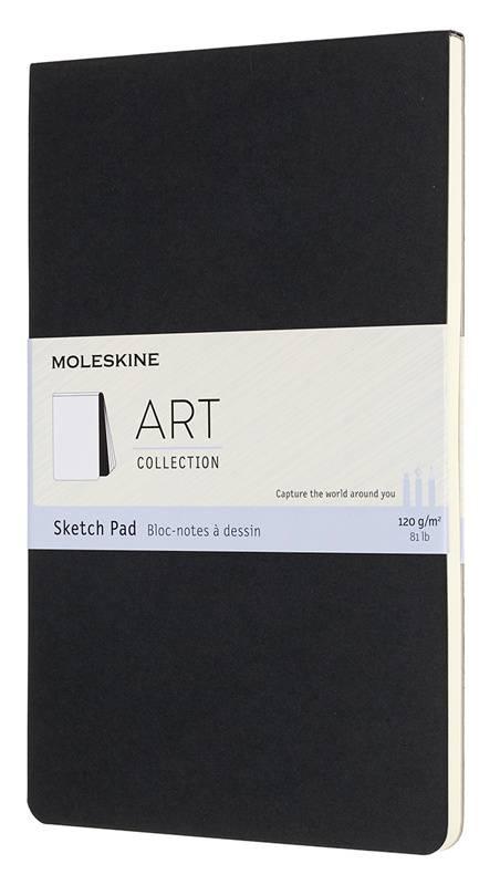 Блокнот Moleskine Art Soft Sketch Pad Large черный (ARTSKPAD3) - фото 1