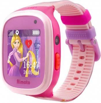 Смарт-часы КНОПКА ЖИЗНИ Disney Принцесса Рапунцель розовый (9301104)