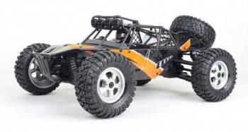 Машина радиоуправляемая HBX Protector DT пластик черный/оранжевый (HBX-12815)