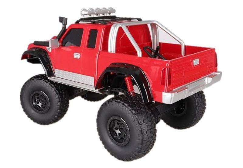 Машина радиоуправляемая HBX Climbing Car пластик красный (MZ-2855) - фото 3