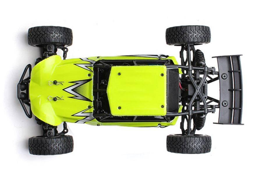 Машина радиоуправляемая HBX Ratchet пластик зеленый (HBX-18856) - фото 5