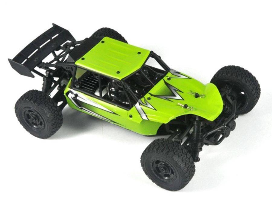 Машина радиоуправляемая HBX Ratchet пластик зеленый (HBX-18856) - фото 7
