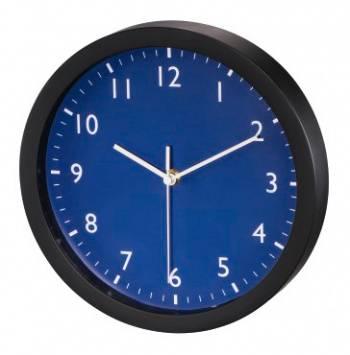 Настенные часы Hama Pure синий (00176953)