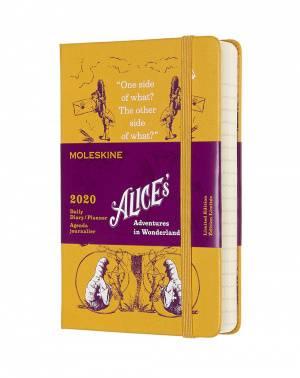 Ежедневник Moleskine Alice in Wonderland желтый (DAL12DC2Y20)