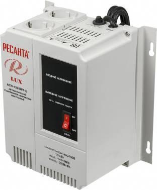 Стабилизатор напряжения Ресанта АСН-1500Н/1-Ц серый (63/6/20)