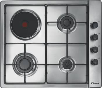 Газовая варочная поверхность Candy CLG631SPX нержавеющая сталь (33800963)