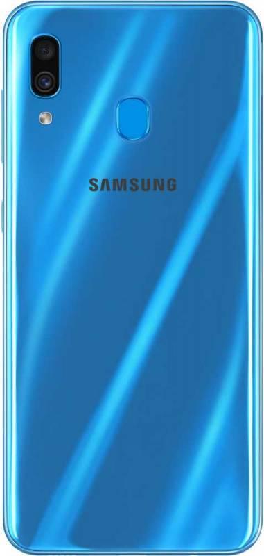 Смартфон Samsung Galaxy A30 SM-A305F 32ГБ синий (SM-A305FZBUSER) - фото 4