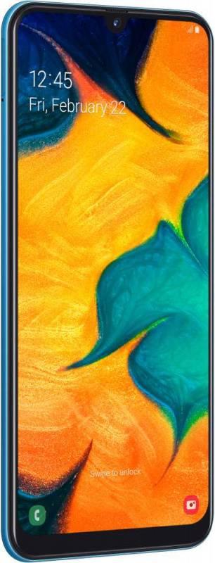 Смартфон Samsung Galaxy A30 SM-A305F 32ГБ синий (SM-A305FZBUSER) - фото 6