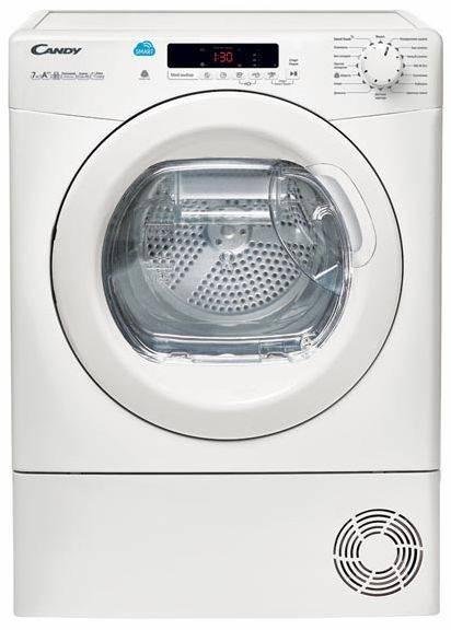 Сушильная машина Candy CS4 H7A1DE-07 белый (31101014) - фото 1