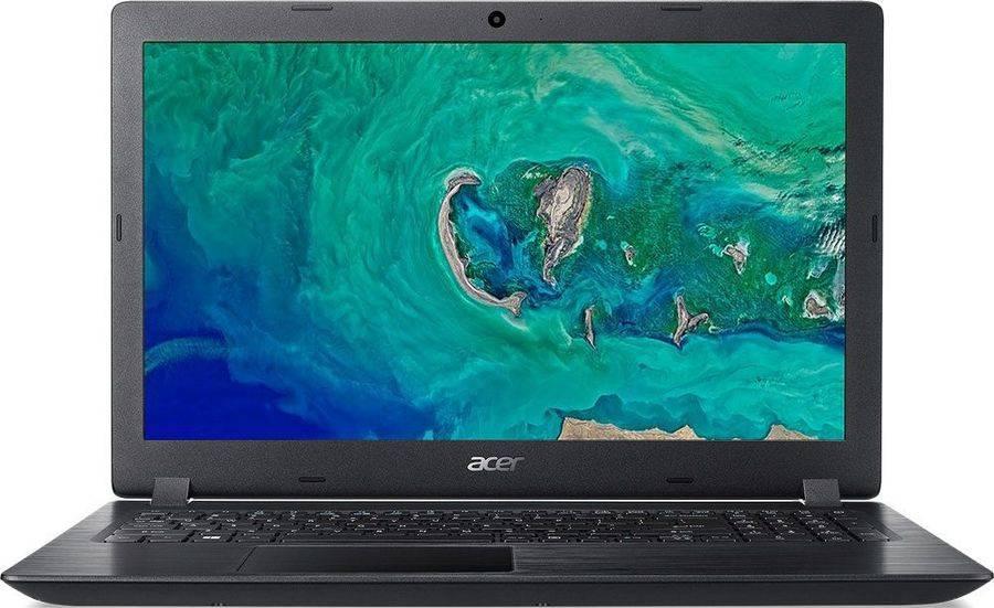 "Ноутбук 15.6"" Acer Aspire 3 A315-21-21JW черный (NX.GNVER.092) - фото 1"