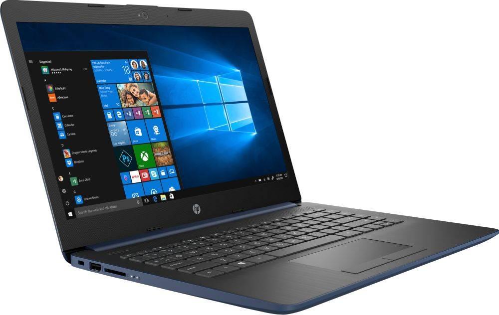 """Ноутбук 14"""" HP 14-cm1003ur синий (6ND94EA) - фото 2"""