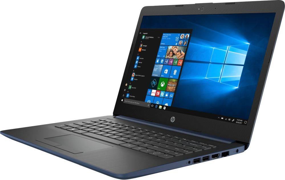 """Ноутбук 14"""" HP 14-cm1003ur синий (6ND94EA) - фото 3"""