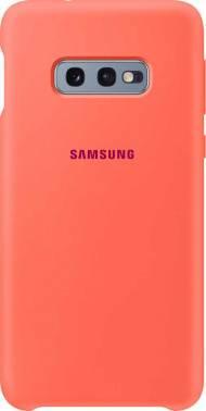 Чехол Samsung Silicone Cover, для Samsung Galaxy S10e, розовый (EF-PG970THEGRU)