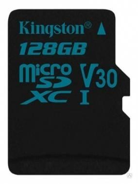 Карта памяти microSDXC 128Gb Class10 Kingston Canvas Go (SDCG2/128GBSP)
