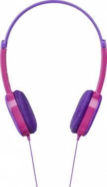 Наушники Hama Kids фиолетовый/розовый (00177014) (плохая упаковка)