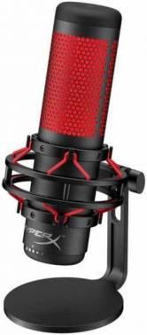 Микрофон HyperX QuadCast черный (hx-micqc-bk)