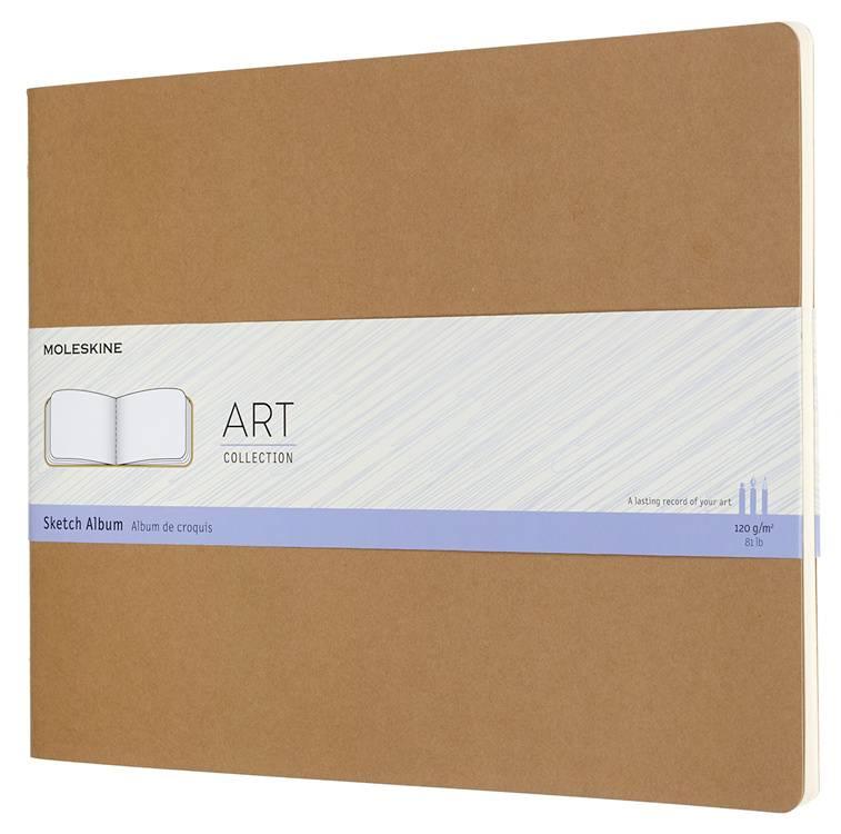 Блокнот Moleskine Art Cahier Sketch Album бежевый (ARTSKA7P3) - фото 1