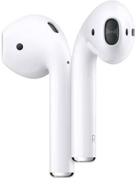 Гарнитура Apple AirPods белый (MV7N2RU/A) - фото 1