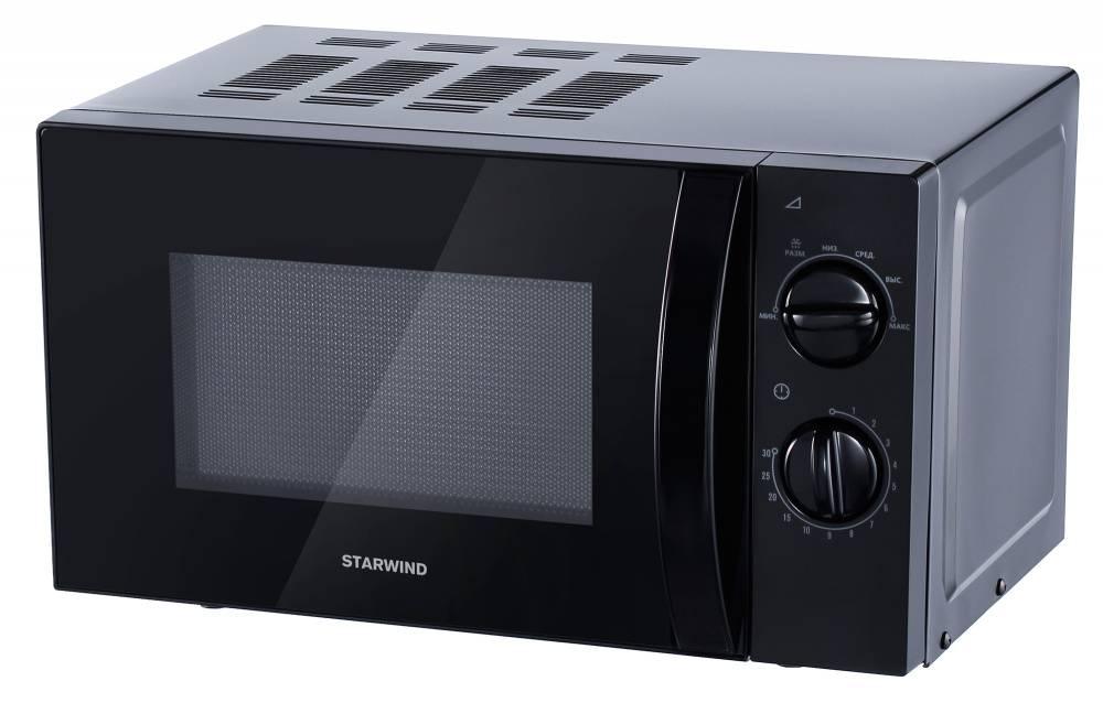 СВЧ-печь Starwind SMW2320 черный - фото 1