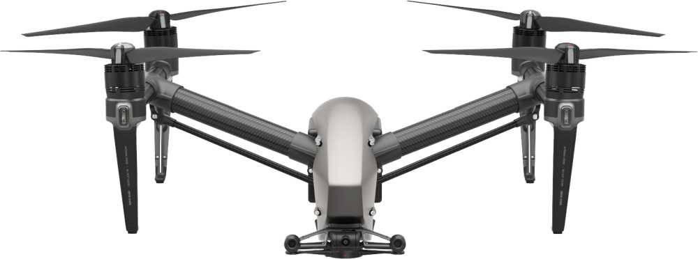 Квадрокоптер DJI Inspire 2 серый - фото 3