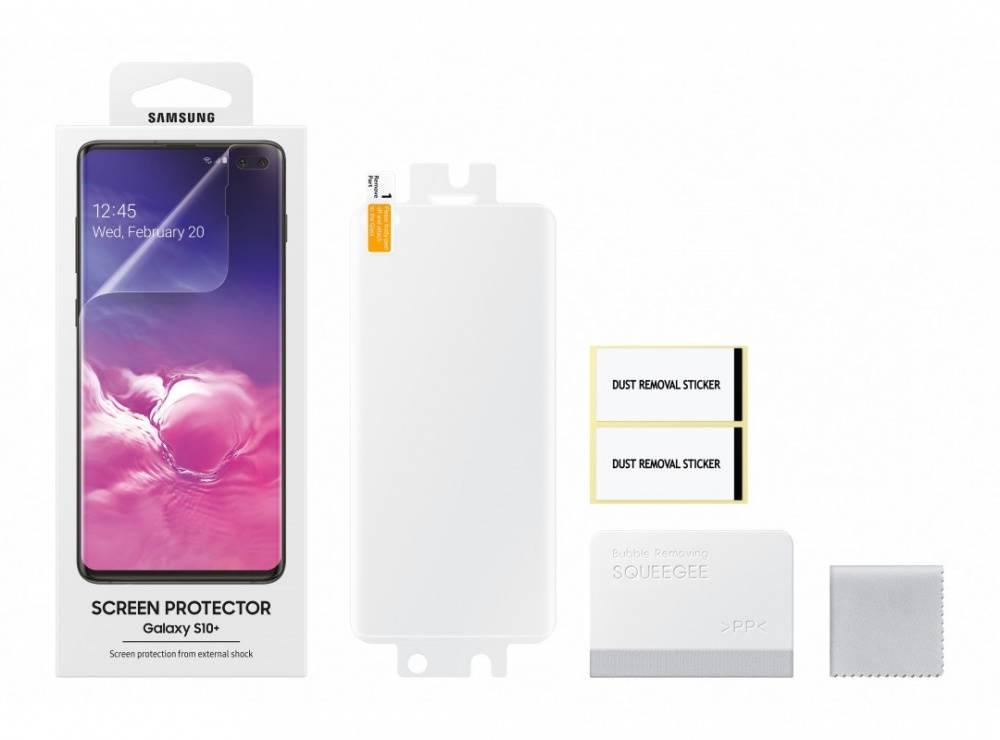Защитная пленка Samsung ET-FG975CTEGRU для Samsung Galaxy S10+ - фото 3