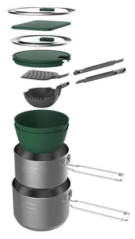 Набор термопосуды Stanley Adventure 1 Pot Prep+Cook Set серебристый (10-01715-017) - фото 1