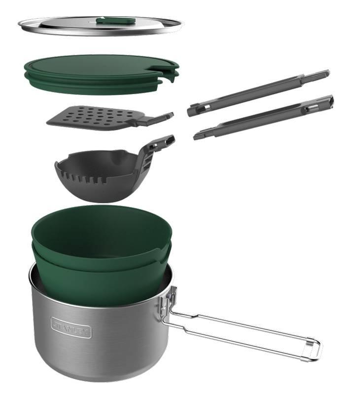 Набор термопосуды Stanley Adventure 1 Pot Prep+Cook Set серебристый (10-01715-017) - фото 2