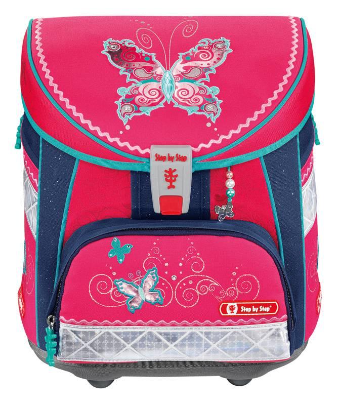 Ранец Step By Step Light Butterfly Dancer розовый/синий (00129335) - фото 1