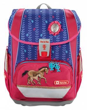 Ранец Step By Step Light2 Lucky Horses розовый/синий (0138960)