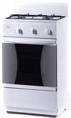 Плита газовая Flama CG 32010 W белый, без крышки