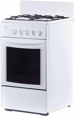 Плита газовая Flama RG 24035 W белый, без крышки
