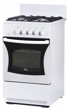 Плита газовая Flama FG 24027 W белый, без крышки