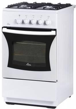 Плита газовая Flama FG 24028 W белый, без крышки