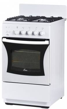 Плита газовая Flama FG 24229 W белый, без крышки