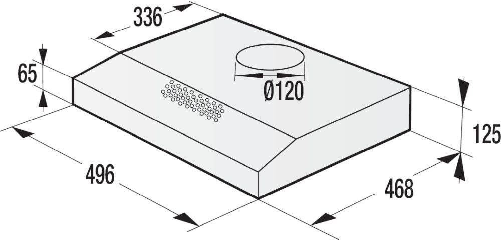 Встраиваемая вытяжка Gorenje WHU529EX/S нержавеющая сталь - фото 3