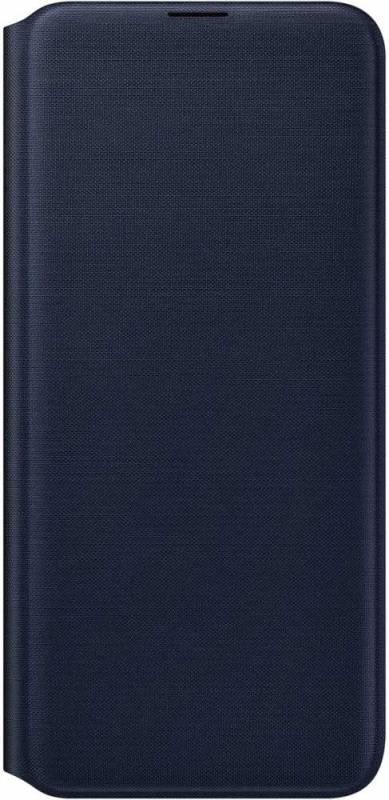 Чехол Samsung Wallet Cover, для Samsung Galaxy A20, черный (EF-WA205PBEGRU) - фото 1