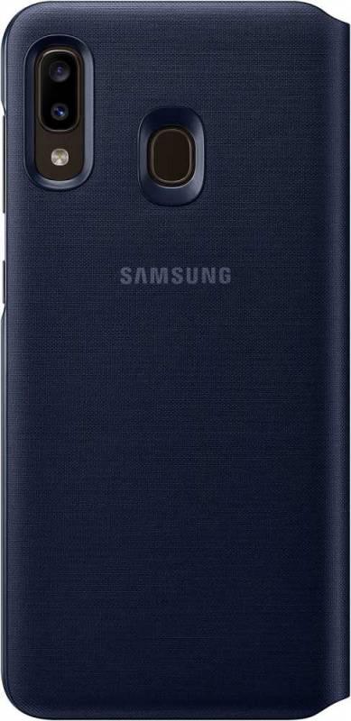 Чехол Samsung Wallet Cover, для Samsung Galaxy A20, черный (EF-WA205PBEGRU) - фото 2
