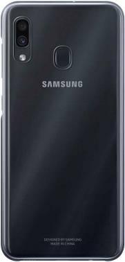 Чехол Samsung Gradation Cover, для Samsung Galaxy A30, черный (EF-AA305CBEGRU)