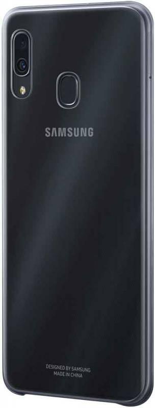 Чехол Samsung Gradation Cover, для Samsung Galaxy A30, черный (EF-AA305CBEGRU) - фото 2