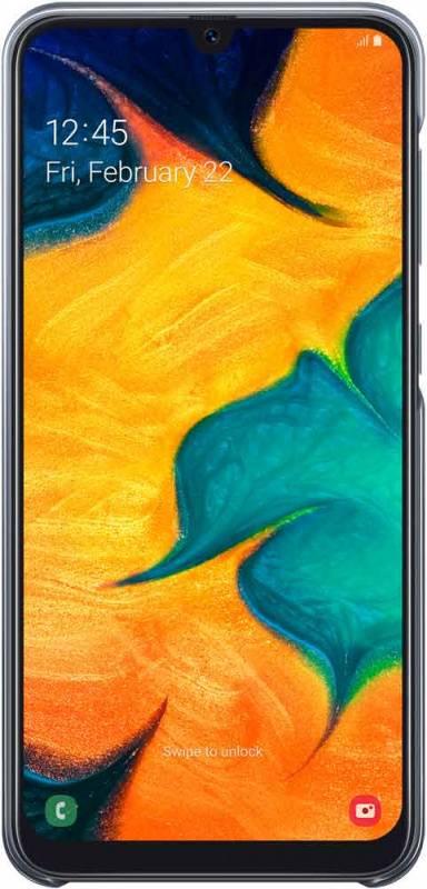 Чехол Samsung Gradation Cover, для Samsung Galaxy A30, черный (EF-AA305CBEGRU) - фото 3